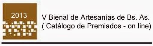 V BIENAL DE ARTESANIAS - CATALOGO