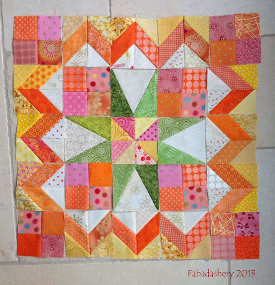 Part 4 - Celtic Solstice Mystery Quilt 2013