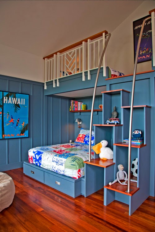 Desain kamar tidur anak menarik