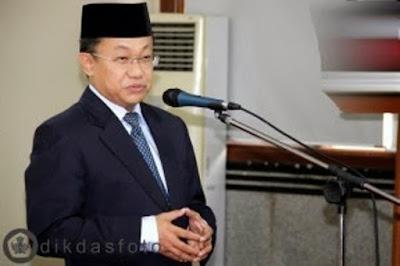 Dirjen Pendidikan Dasar dan Menengah Kementerian Pendidikan dan Kebudayaan (Kemdikbud) Hamid Muhammad