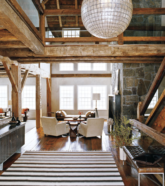 Rustic Modern Barn Homes