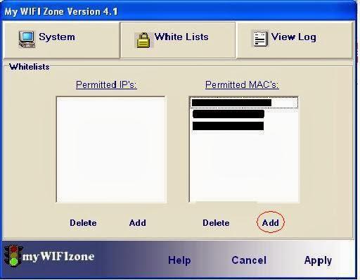 My Wifi Zone phần mềm phát hiện và ngăn chặn sử dụng lén Wifi