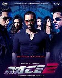 Race 2 Watch Online