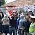 Masa Pendukung Agung-Afif Demo Menuntut Keadilan Berdemokrasi