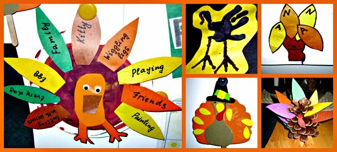 5 Thankful Turkey Art Ideas for Preschool