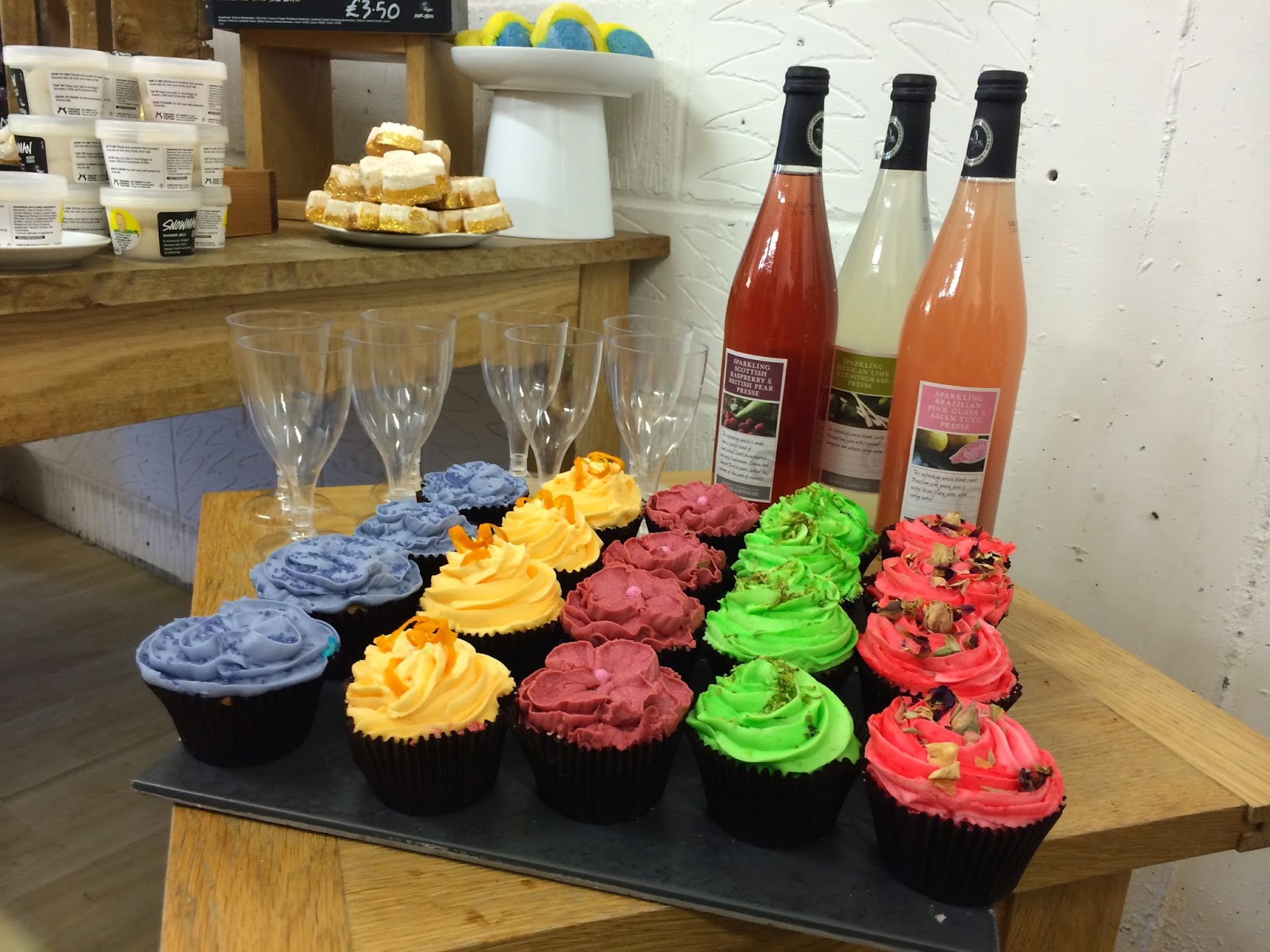 Cake at Lush Christmas and Halloween Preview Collection 2014 Portsmouth