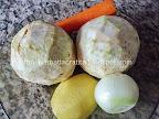 supa crema de telina morcov cartof ceapa cu crutoane preparare