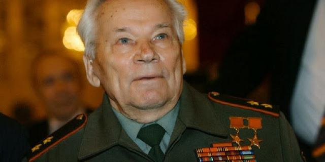 Mikhail Kalashnikov Perancang Senapan AK-47 Meninggal Dunia