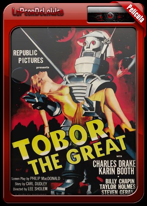 Tobor the Great (1954) [Clásico] BrRip 720p H264