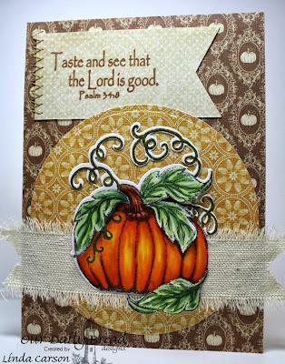 Our Daily Bread Designs, Pumpkin, Pumpkin Die, Fruit of the Spirit
