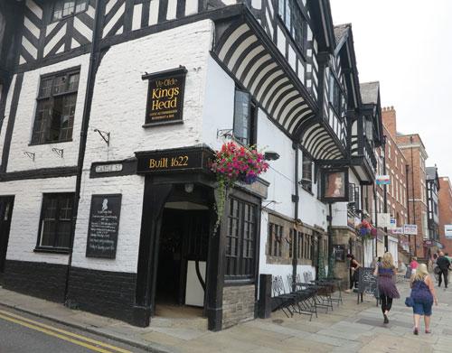 Ye Olde King's Head Chester, Cheshire, UK