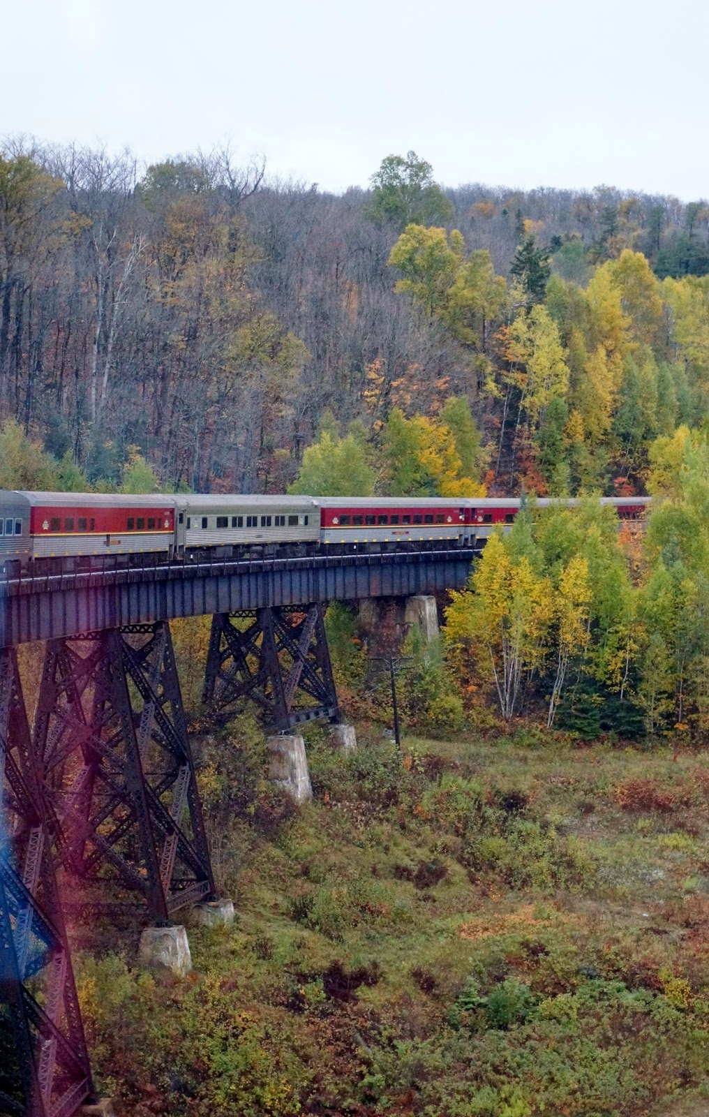 Bev S Travel Blogs Agawa Canyon Train Tour