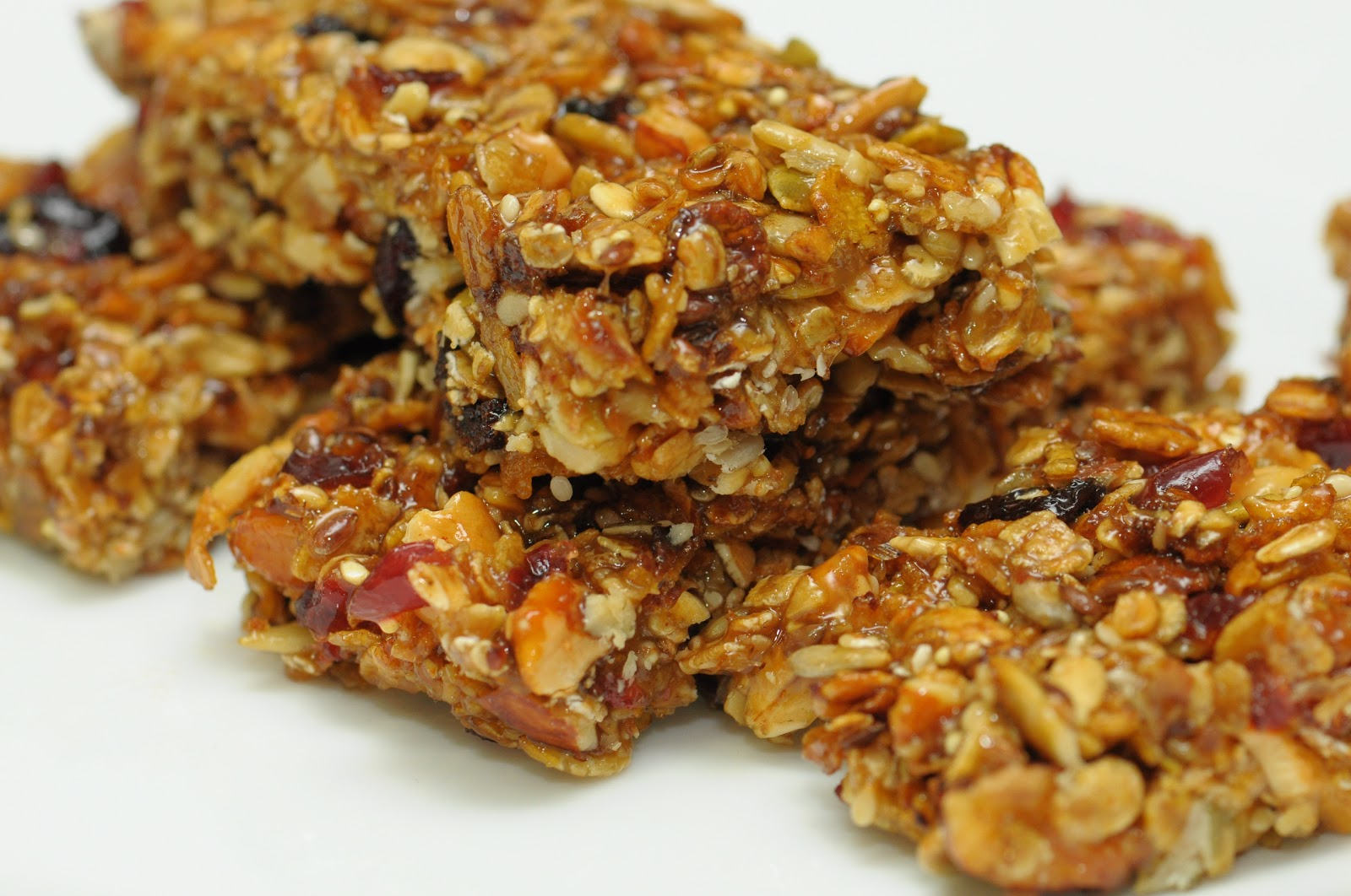 Scrappingcrazy homemade granola bars