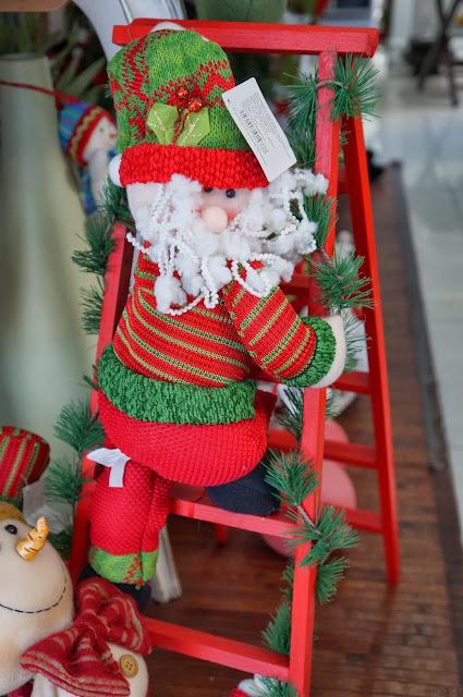 Papai Noel - enfeites de Natal - loja Flor de Malagueta - Santos
