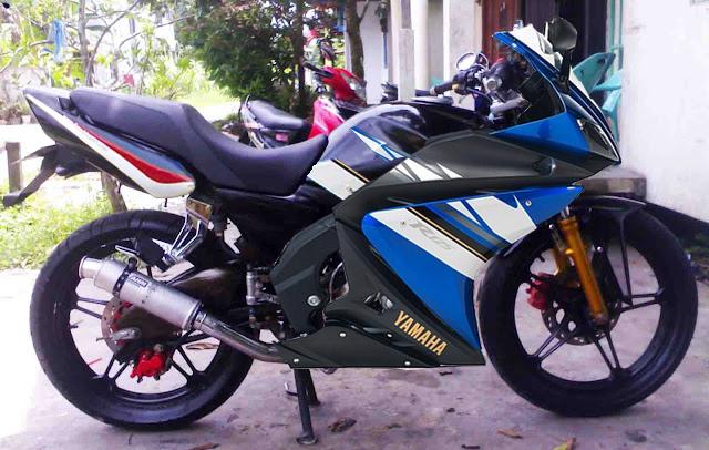 Modifikasi Suzuki Thunder 125 & Cara Membuat Body Motor Dari Bahan ...