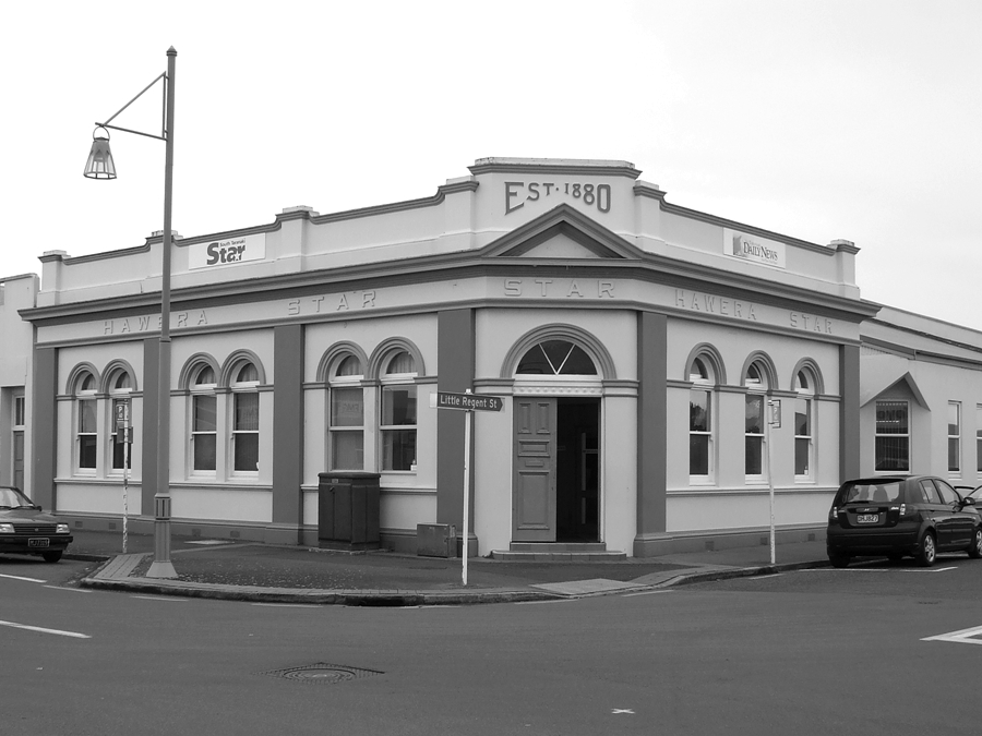 Hawera New Zealand  city images : photographing New Zealand: Hawera Star building