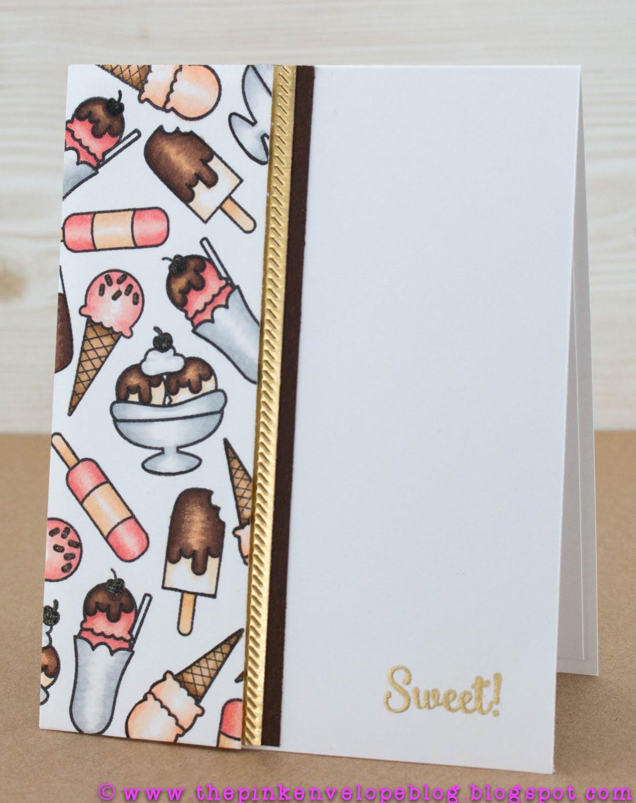 background stamping copic coloring sneak peak the pink envelope