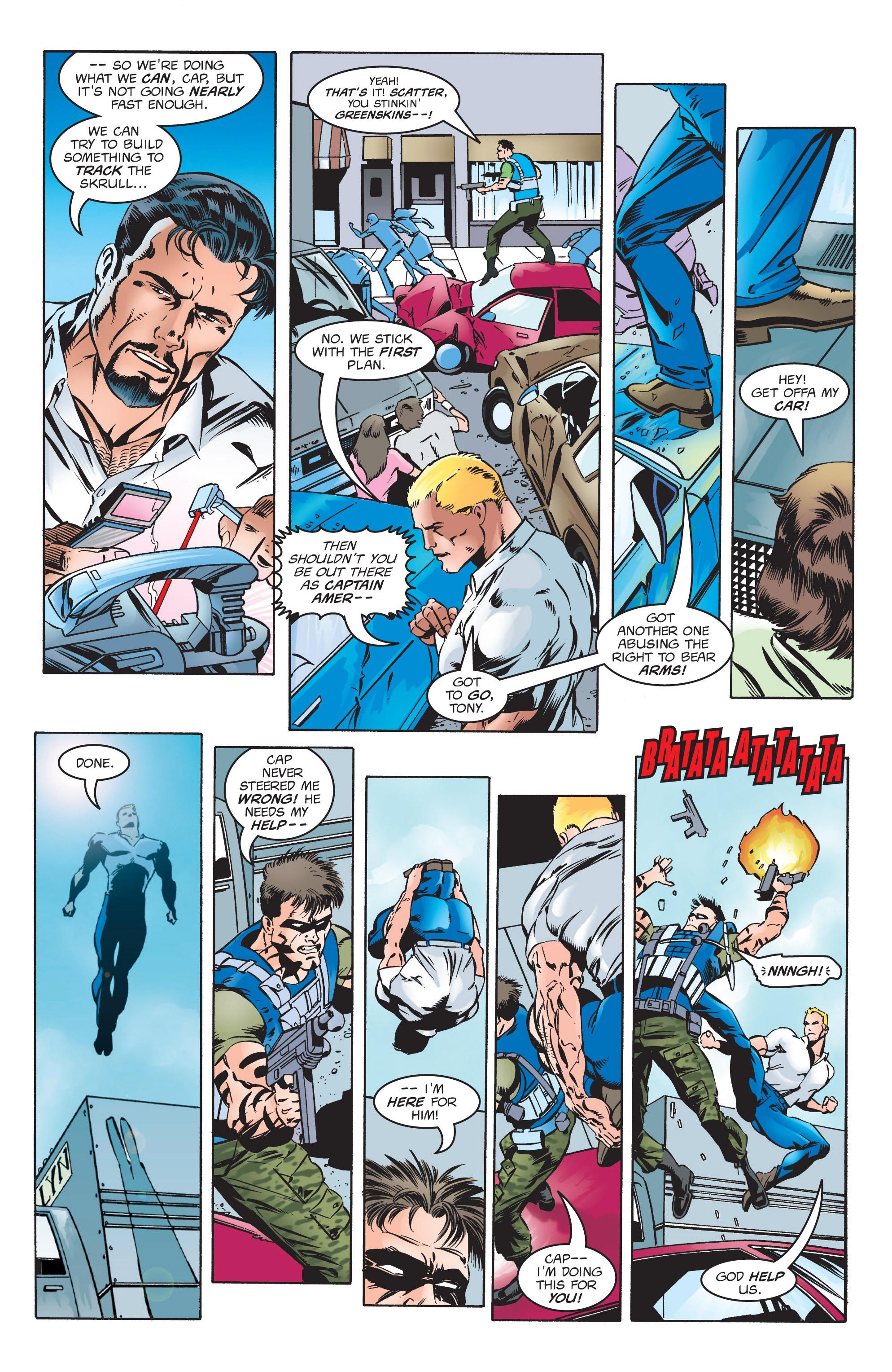 Captain America (1998) Issue #7 #10 - English 9