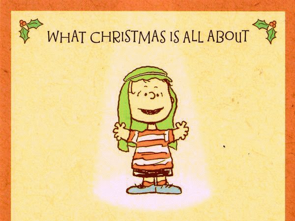Christmas Tidings By Linus The Evangelist