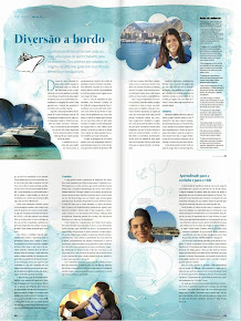 Blog Viajar de Navio saiu na mídia!