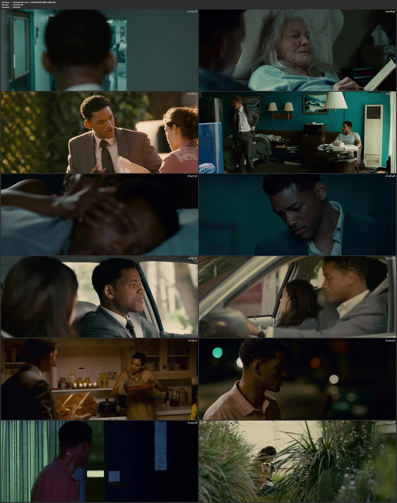 Seven Pounds 2008 Dual Audio Hindi ENG BDRip 720p ESubs
