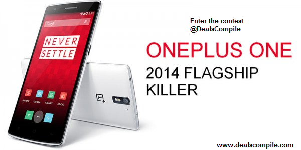 DealsCompile - OnePlus One Contest #NeverSettle