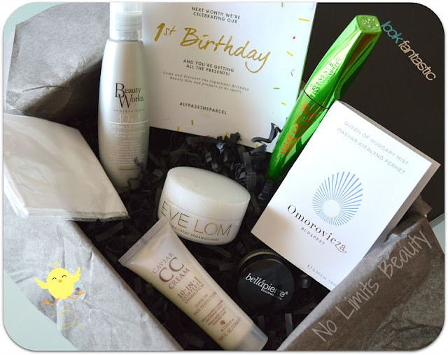 LookFantastic Beauty Box - Agosto 2015