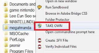 Cara Mengatasi File/Folder Permission Error di Windows 7