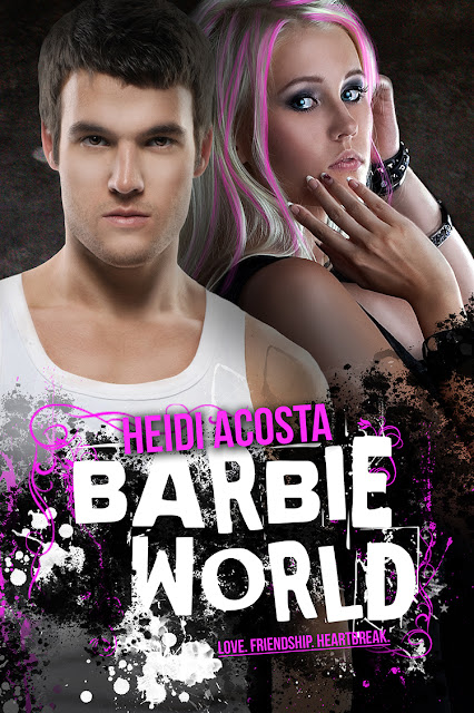 COVER REVEAL for Barbie World by Heidi Acosta
