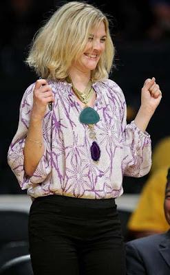 Drew Barrymore Statement Necklace