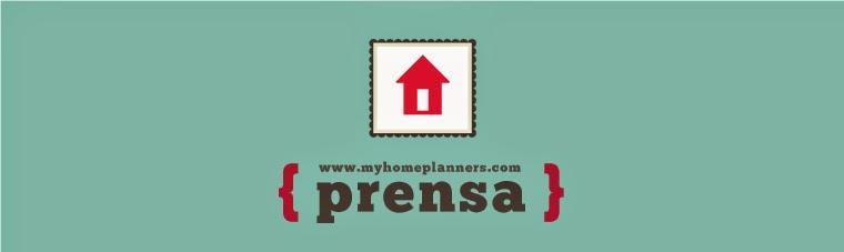 MY HOME PLANNERS - PRENSA