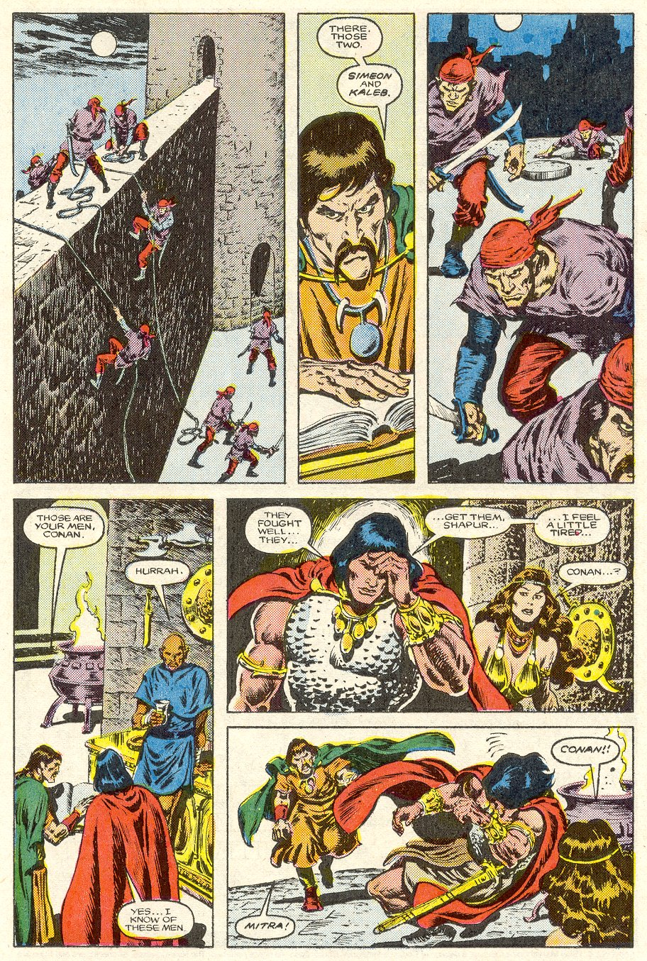 Conan the Barbarian (1970) Issue #187 #199 - English 9