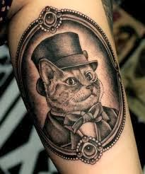 Fotos de Tatuagens de Gato