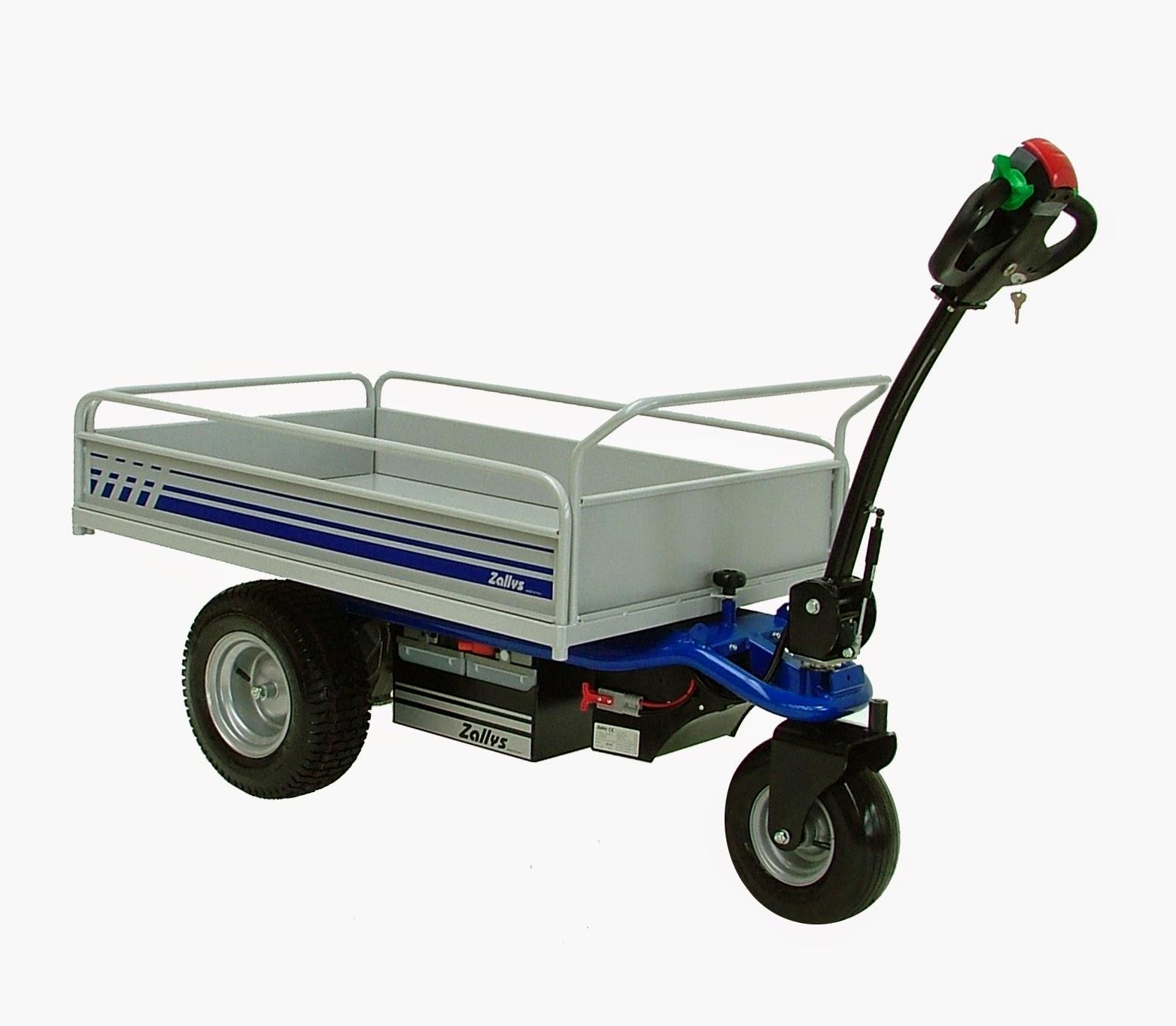 Motorized cart for Brouette jardin