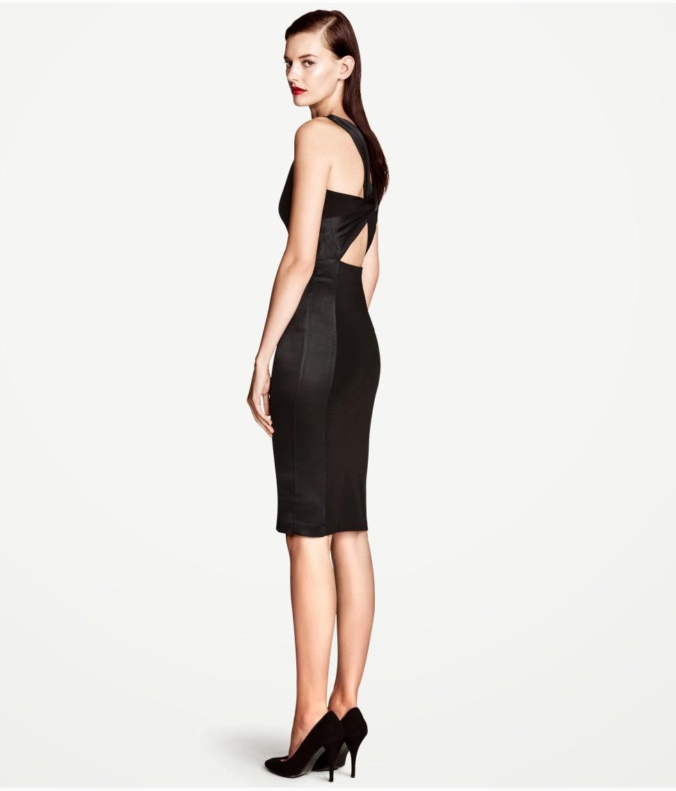 siyah+abiye+elbise H & M 2014 Sommer Kleidung Models