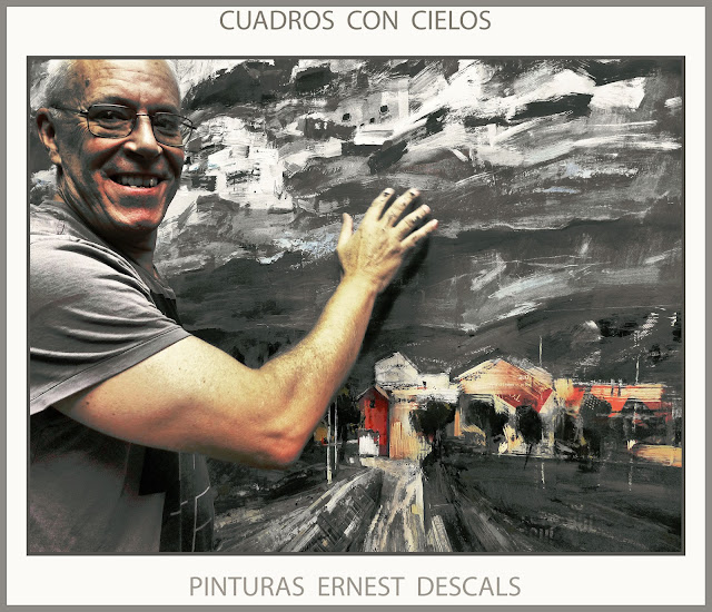 PINTURA-CIELO-CUADROS-PINTURAS-GRAN FORMATO-FOTOS-PAISAJES-ARTISTA-PINTOR-ERNEST DESCALS-