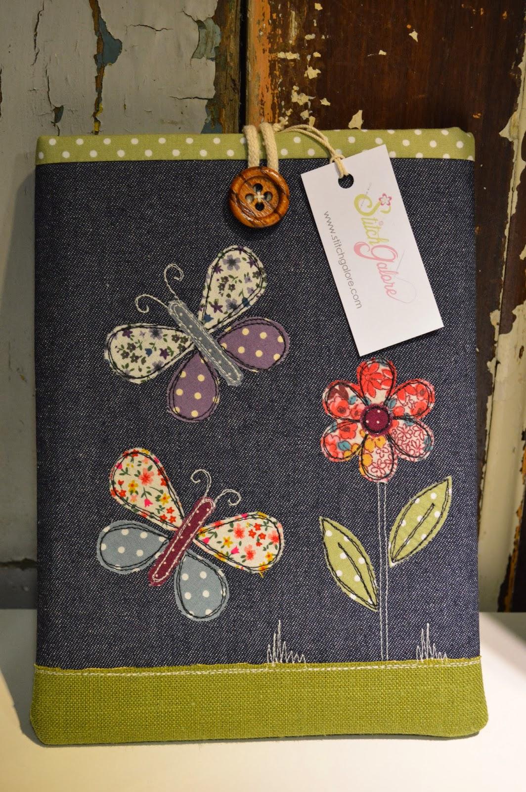Stitch galore embroidered cases - Fundas para bolsos ...