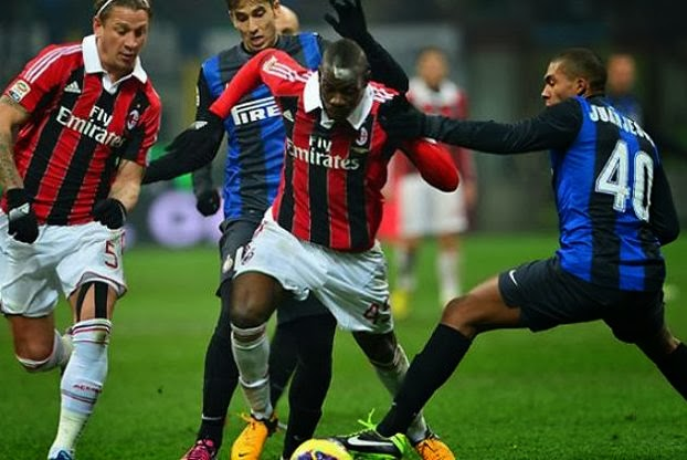 Derby Milan: Inter vs AC Milan Serie A Desember 22 2013