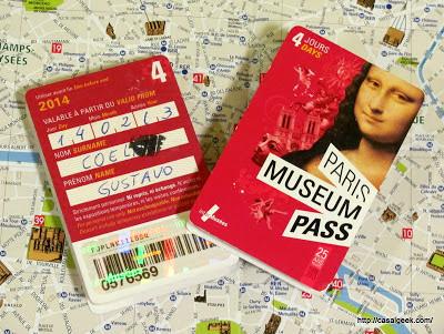 Casal Geek Eurotour 2013 - Descobrindo Paris - Dicas e Considerações Finais - Paris Museum Pass