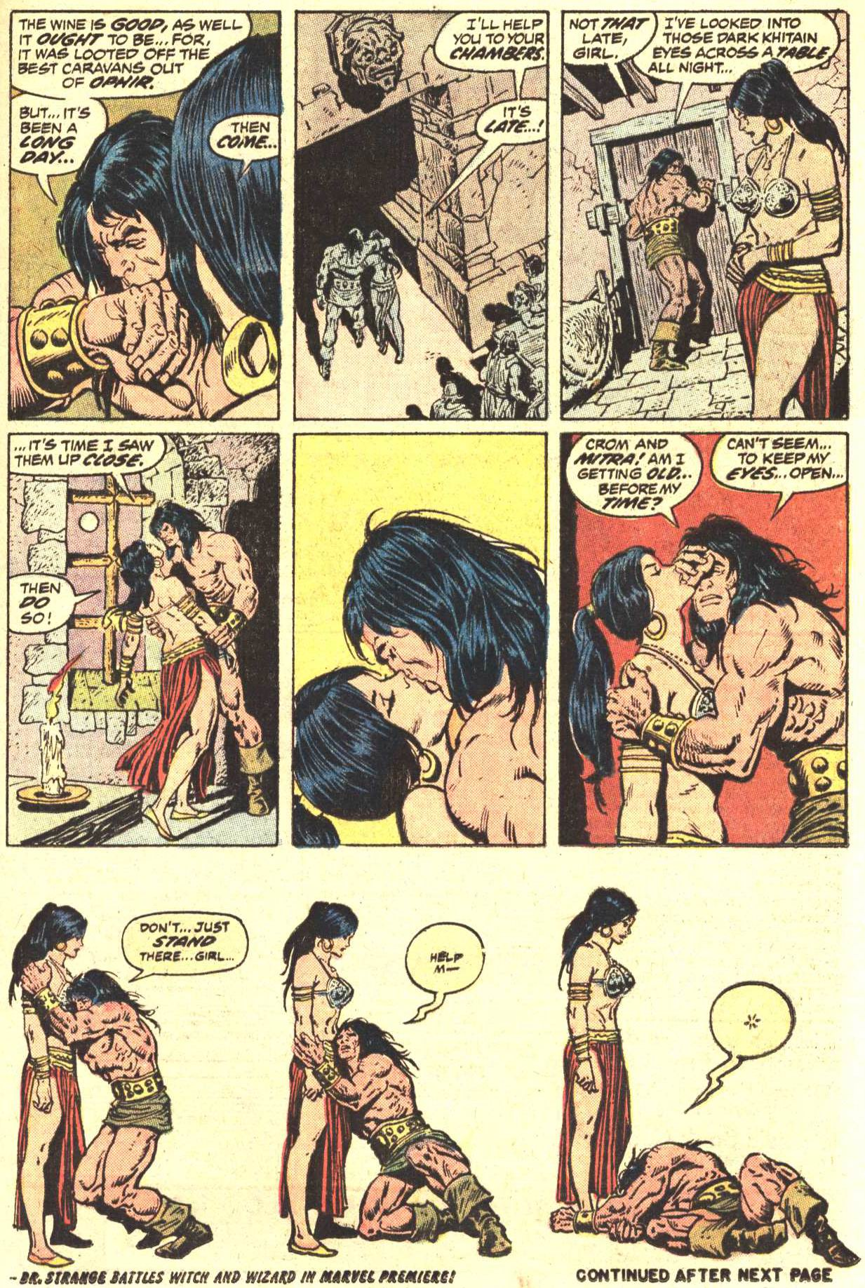 Conan the Barbarian (1970) Issue #27 #39 - English 15