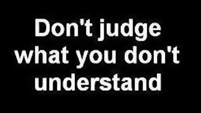 Don't Judge Someone