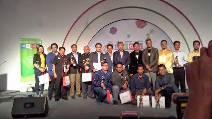 Senarai Penuh Pemenang Malaysia Social Media Award 2014