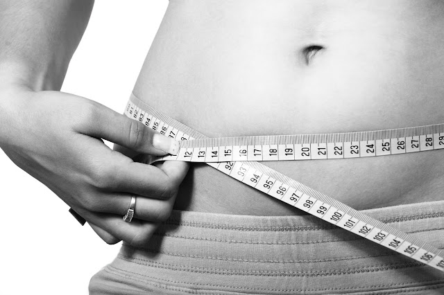 woman, belly, measuring, health, fitness