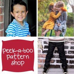 Peek-a-boo Pattern Shop