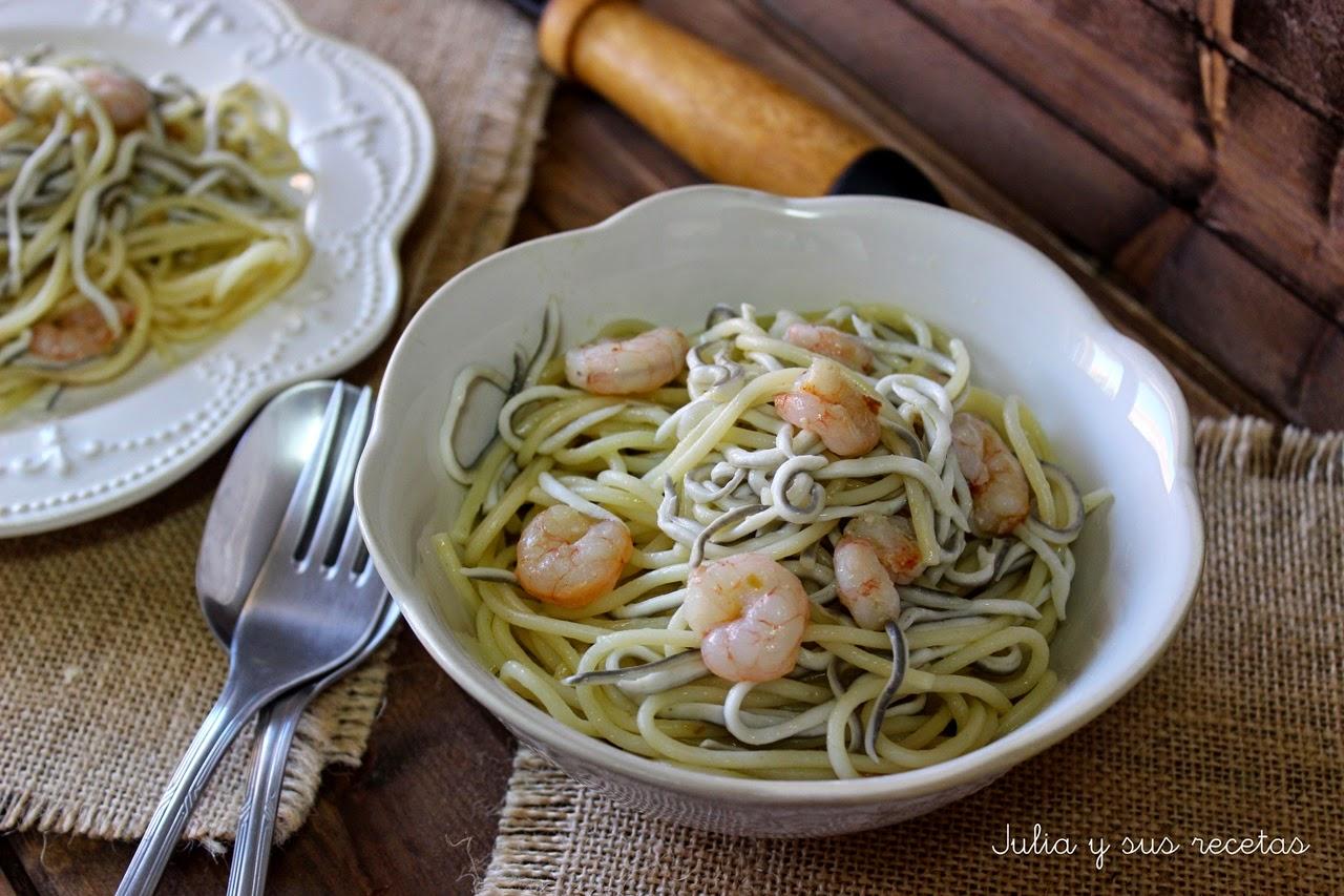DIETA MEDITERRANEA : RECETAS COCINA ANDALUZA - Página 28 Espaguetis%2Bcon%2Bgulas