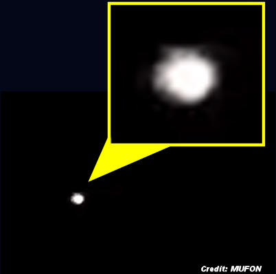 Hovering Orb UFO Caught on Video Over San Diego County 12-31-15