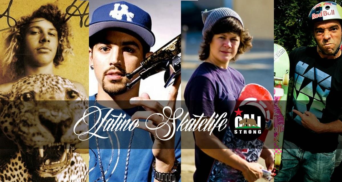 Latinos in Skateboarding: Z-Boy Tony Alva, Paul Rodriguez Pro Champion Skateboarder, Vanessa Torres Gold Medal Pro Skateboarder, Sandro Dias Pro Skateboard Champion
