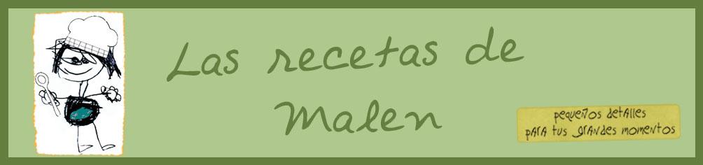 Las recetas de Malen