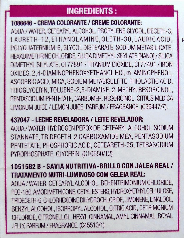 Ingredientes Casting Crème Gloss L´Oréal
