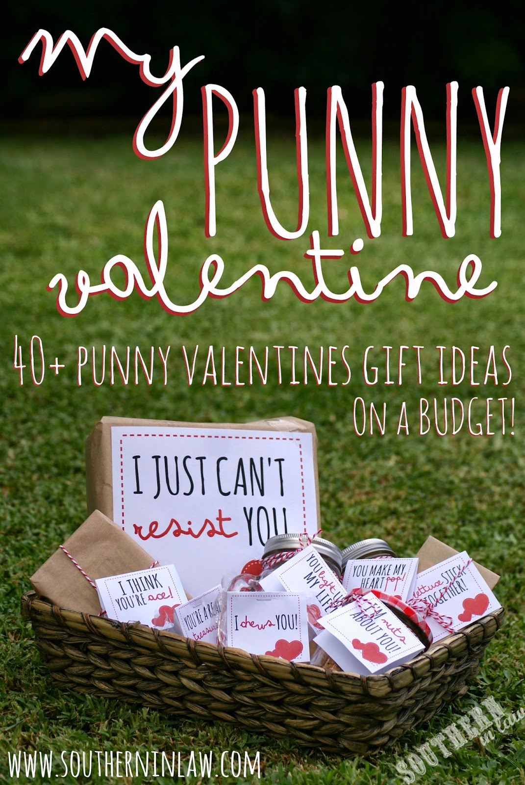 My Punny Valentine: 40+ Punny Valentines Gift Ideas with FREE Printable Gift Tags!